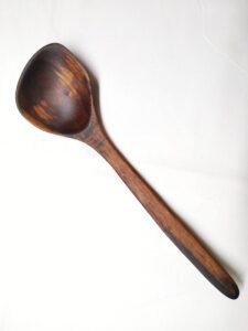Black Walnut Large Serving Spoon LS2